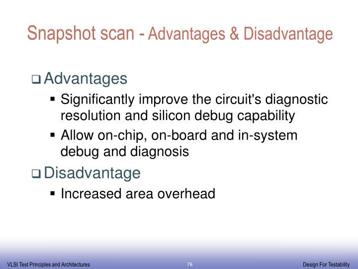 Snapshot scan -