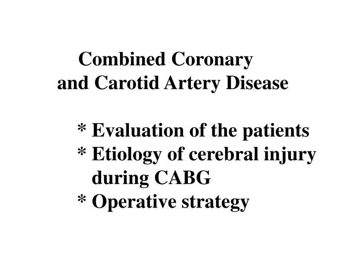 Combined Coronary