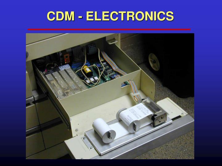 CDM - ELECTRONICS