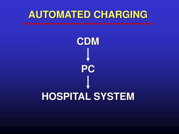 AUTOMATED CHARGING