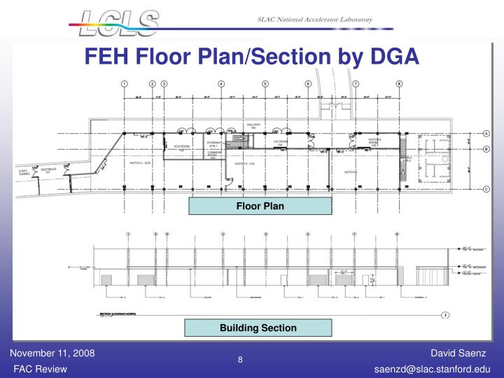 FEH Floor Plan/Section by DGA