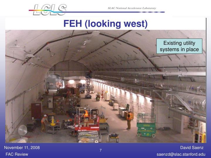 FEH (looking west)
