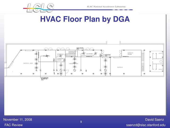 HVAC Floor Plan by DGA
