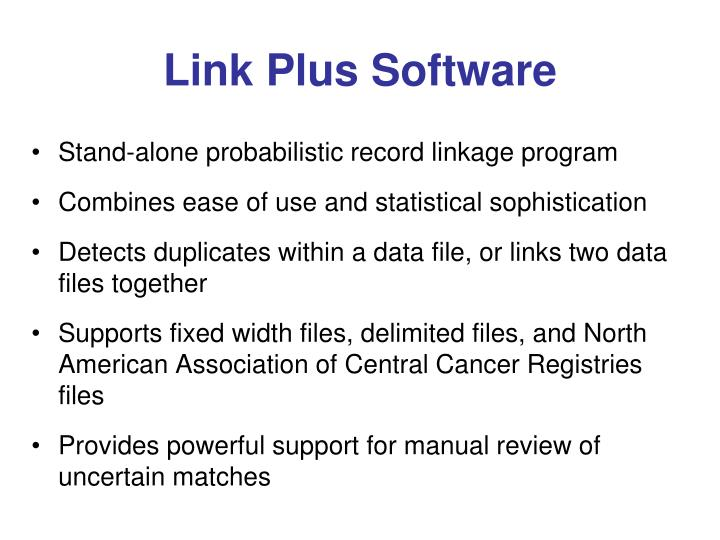 Link Plus Software