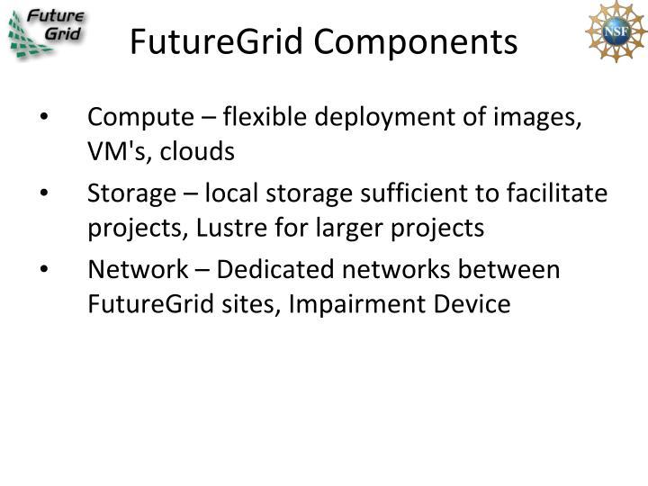 FutureGrid Components
