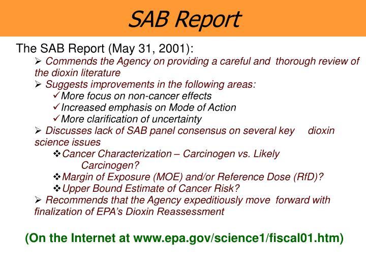 SAB Report