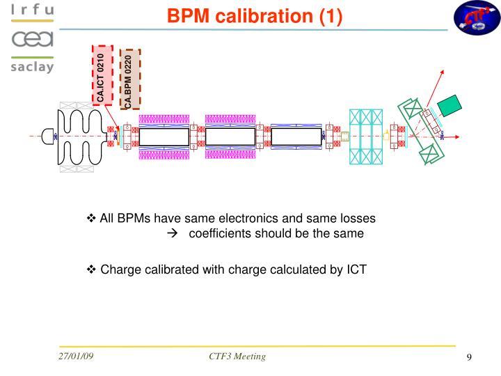 BPM calibration (1)