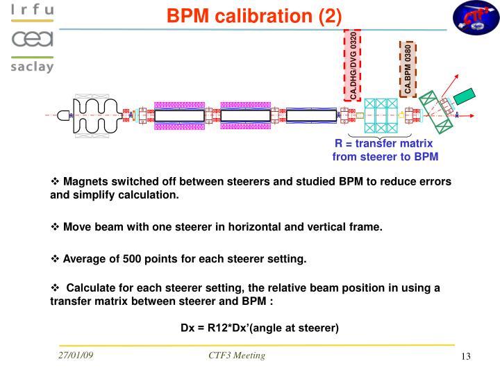 BPM calibration (2)