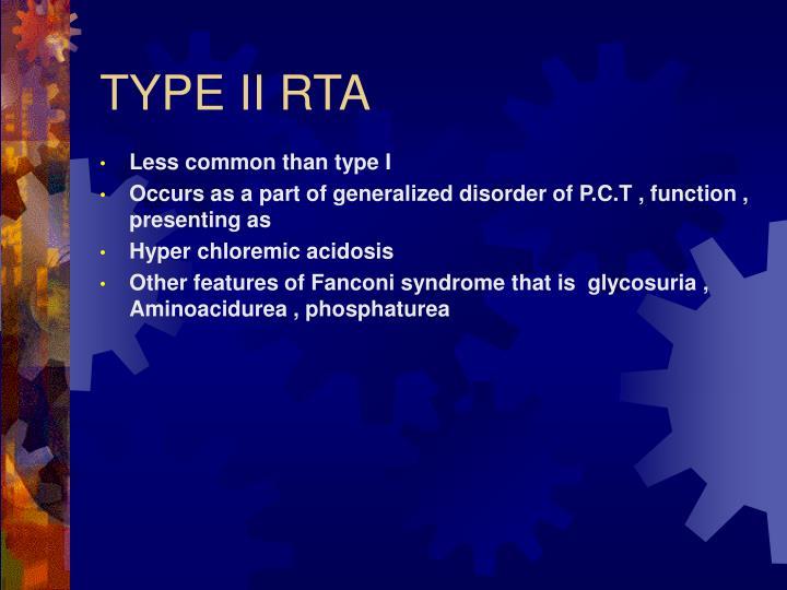 TYPE II RTA