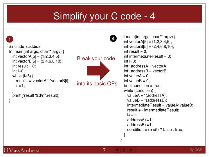 Simplify your C code - 4
