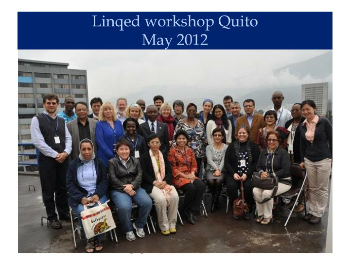 Linqed workshop Quito