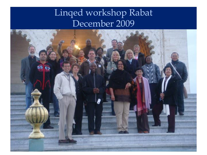 Linqed workshop Rabat