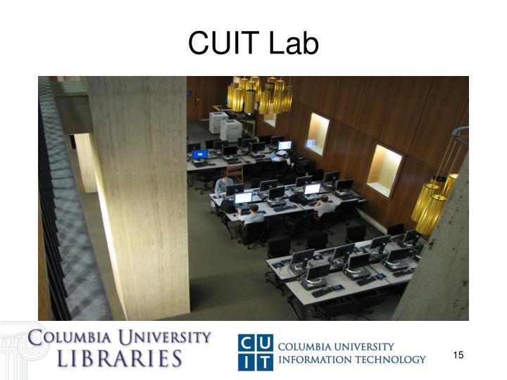 CUIT Lab