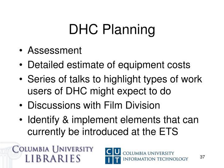 DHC Planning