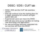 dssc eds cuit lab