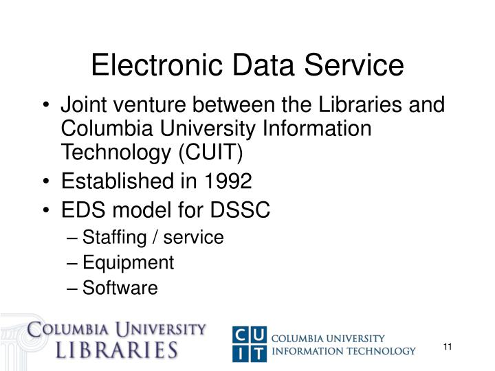 Electronic Data Service