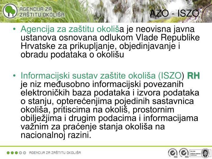 AZO - ISZO