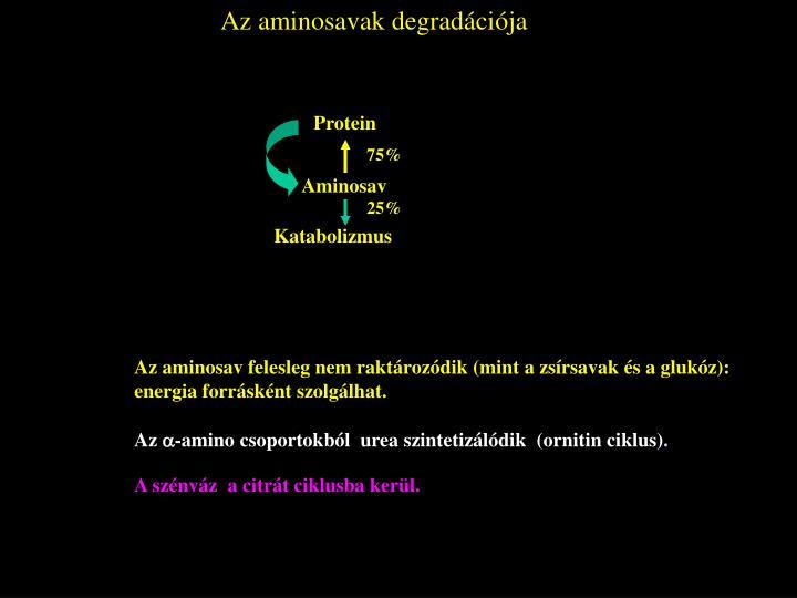 Az aminosavak