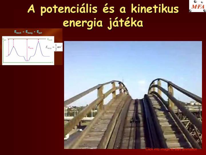 A potenciális és a kinetikus energia játéka