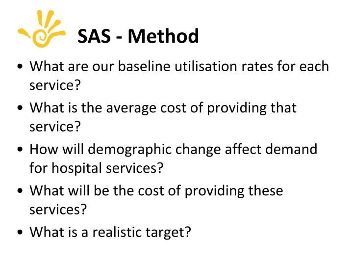 SAS - Method