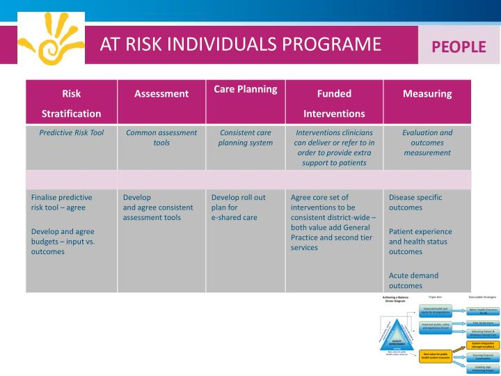 AT RISK INDIVIDUALS PROGRAME