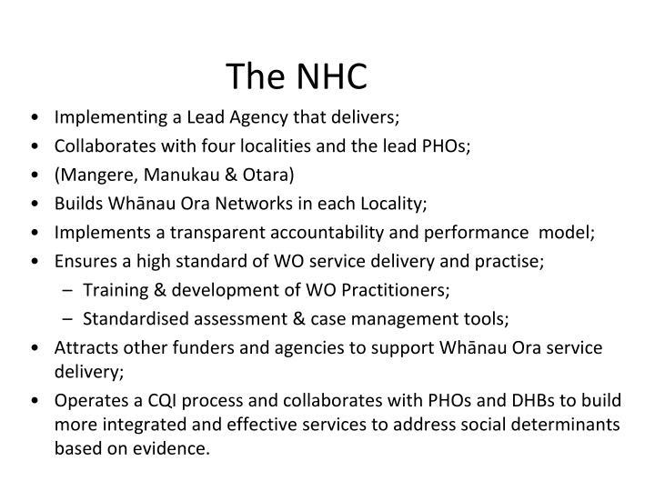 The NHC