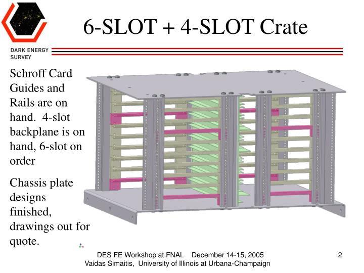 6-SLOT + 4-SLOT Crate