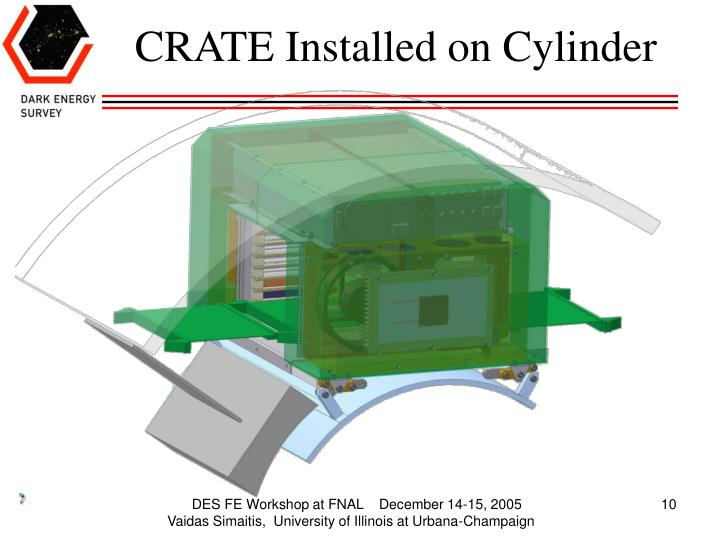CRATE Installed on Cylinder