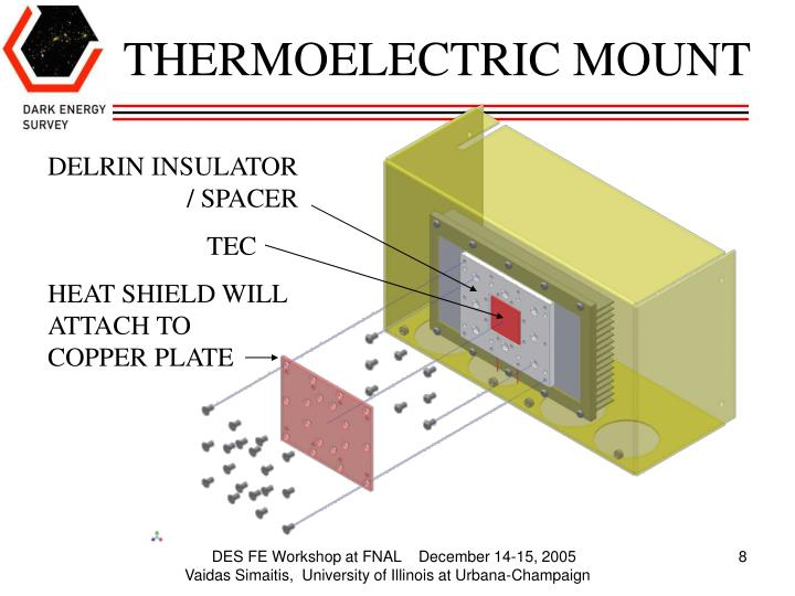 THERMOELECTRIC MOUNT