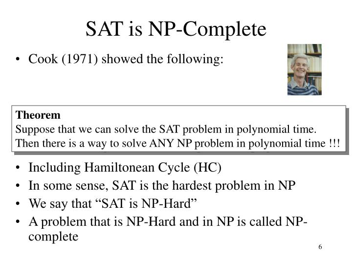 SAT is NP-Complete