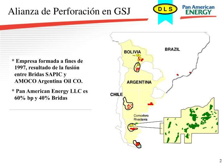 Alianza de Perforación en GSJ