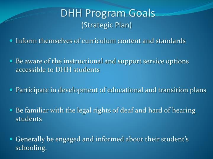 DHH Program