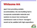 whitsome ark2