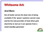 whitsome ark22