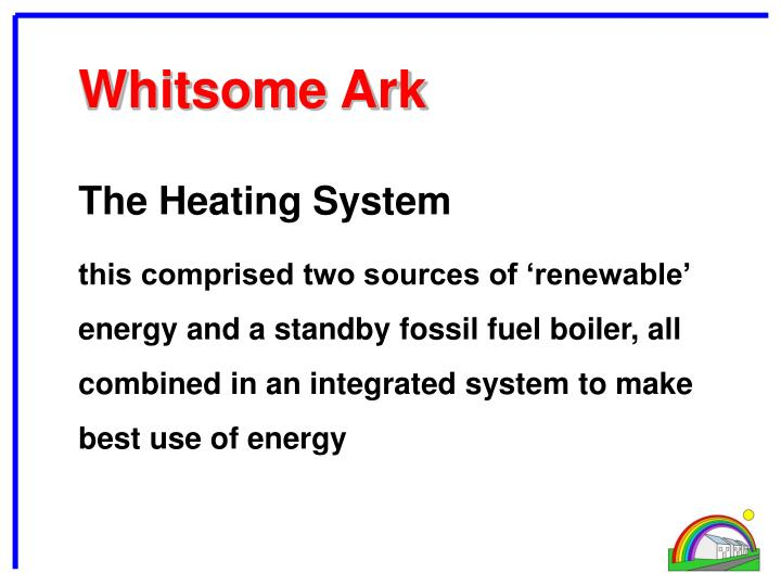 The Heating System