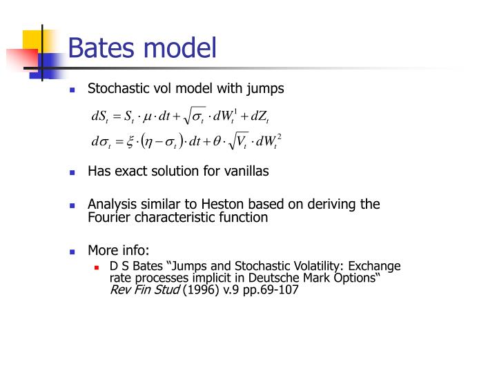 Bates model