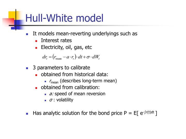 Hull-White model