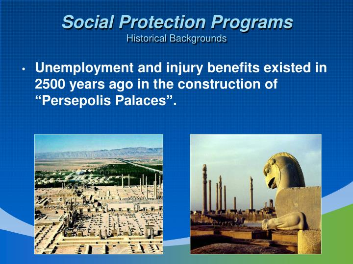 Social Protection Programs