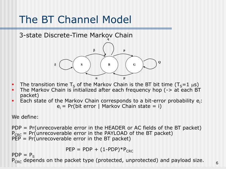 The BT Channel Model
