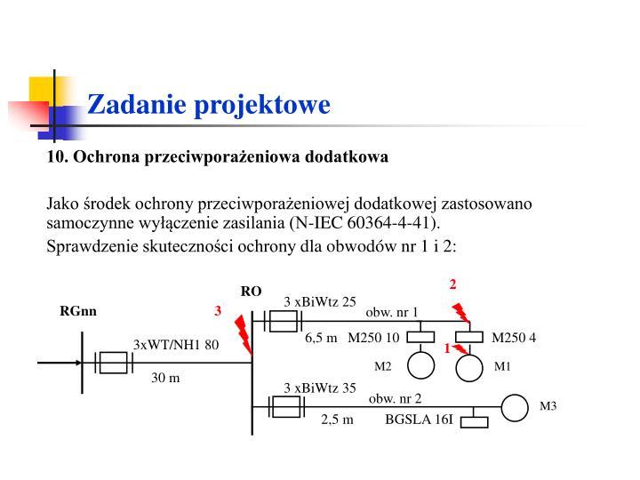 10. Ochrona przeciwporażeniowa dodatkowa