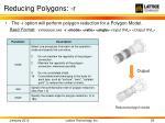reducing polygons r