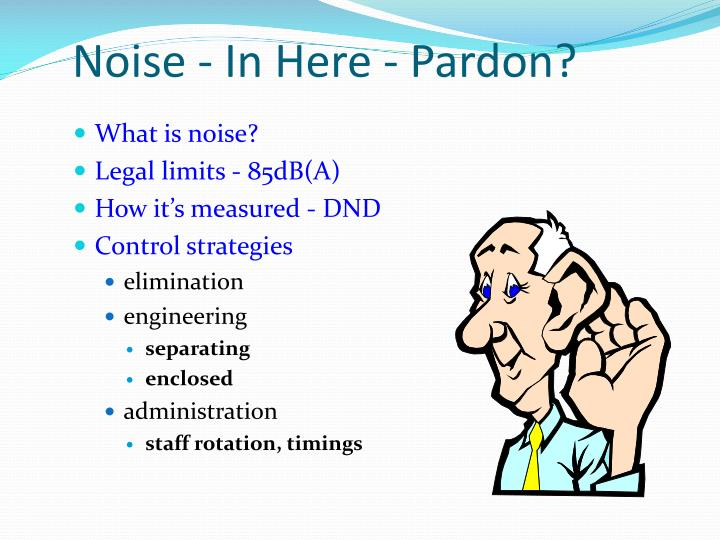 Noise - In Here - Pardon?