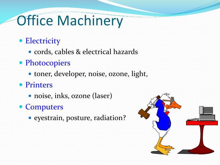 Office Machinery