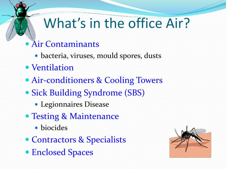 What's in the office Air?