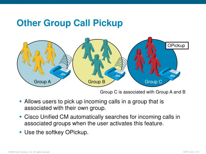 Other Group Call Pickup