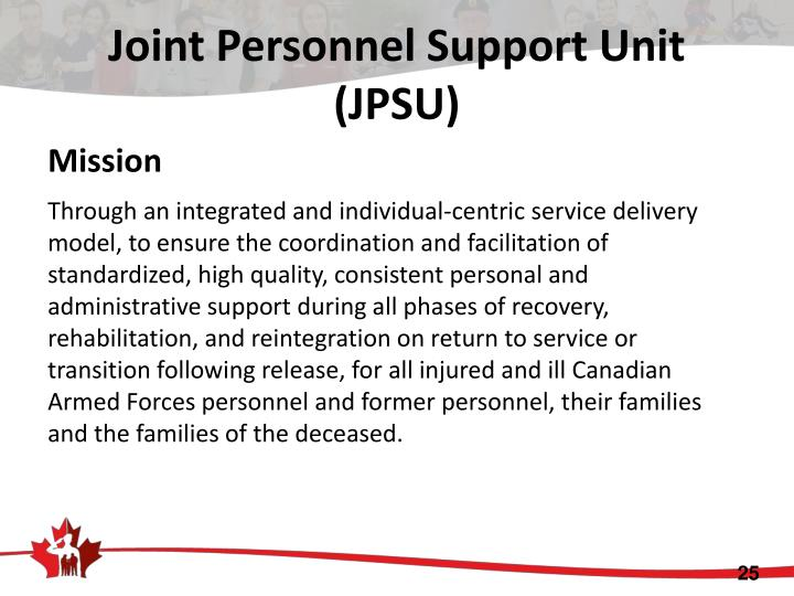 Joint Personnel Support Unit (