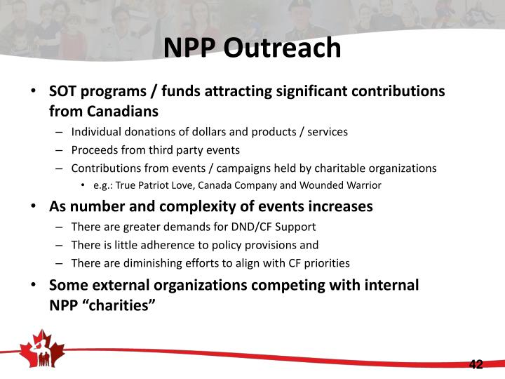 NPP Outreach