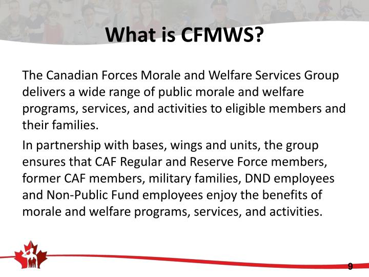 What is CFMWS?