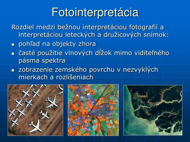 Fotointerpretácia