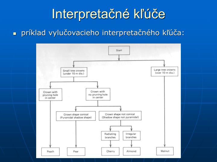 Interpretačné kľúče